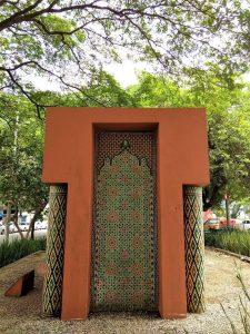 Monumento Mohammed V - Um pedacinho do Marrocos na frente do metrô Paraíso!