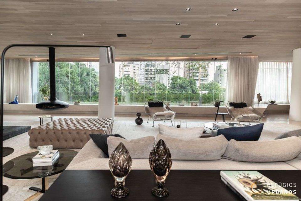 606m² com 3 suítes por Daniel Libeskind no Itaim Bibi