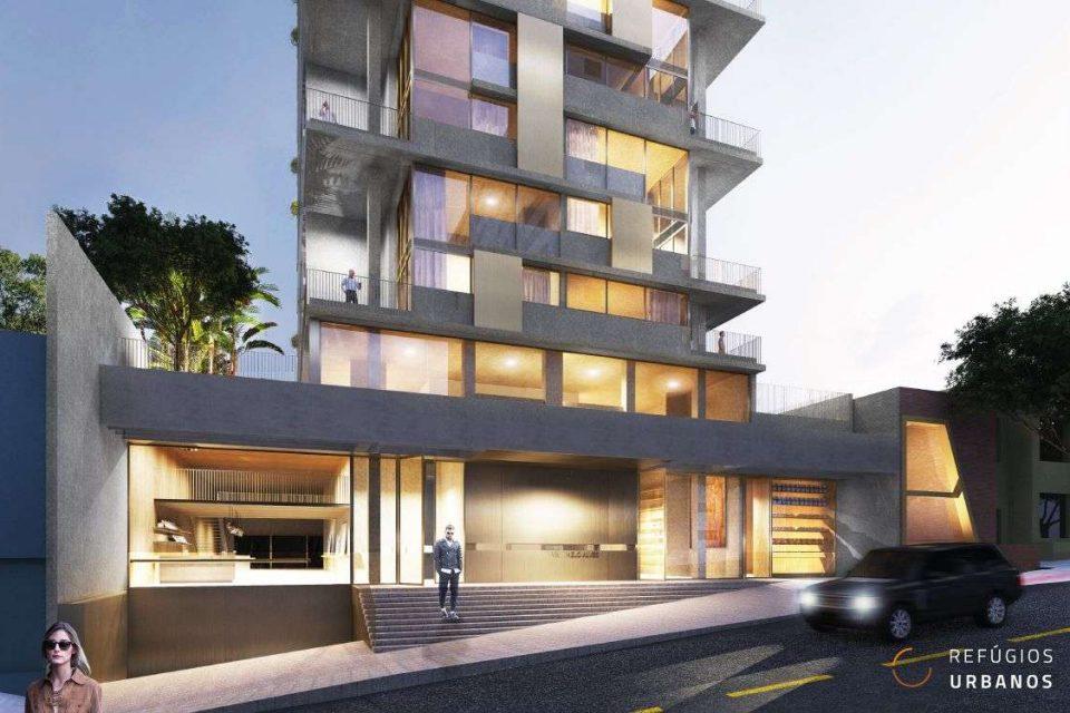 Studio compacto – luxo e design assinado no Jardins