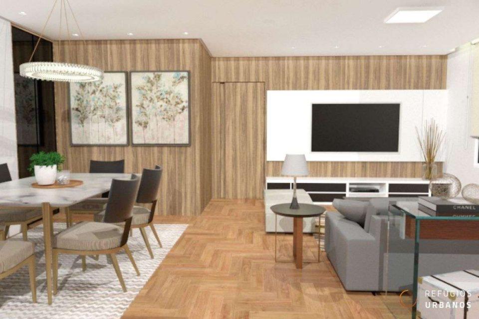 Apartamento de 112m² com reforma sofisticada no Jardim América!