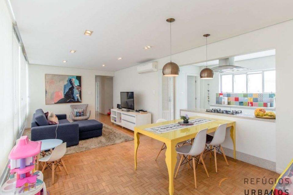 Apartamento na Bela Vista com reforma e vista impecáveis!