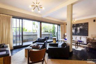Para quem quer morar bem e com estilo, na Vila Buarque: cobertura com 123m², uma suíte, terraço e uma vaga.