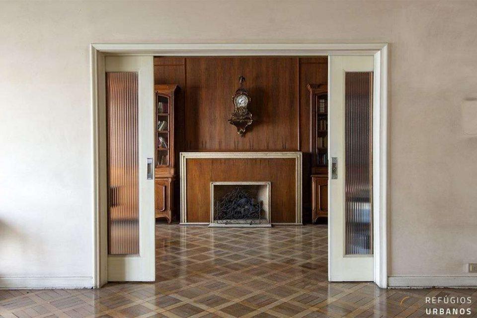 Apartamento em Higienopolis com 339m2, 4 dormitórios e uma vaga com planta absolutamente genial para reformar e deixar espetacular!