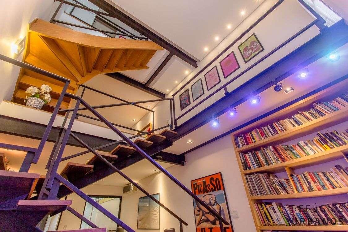 Casa de Vila no Jardim Paulista: loft com muito estilo!