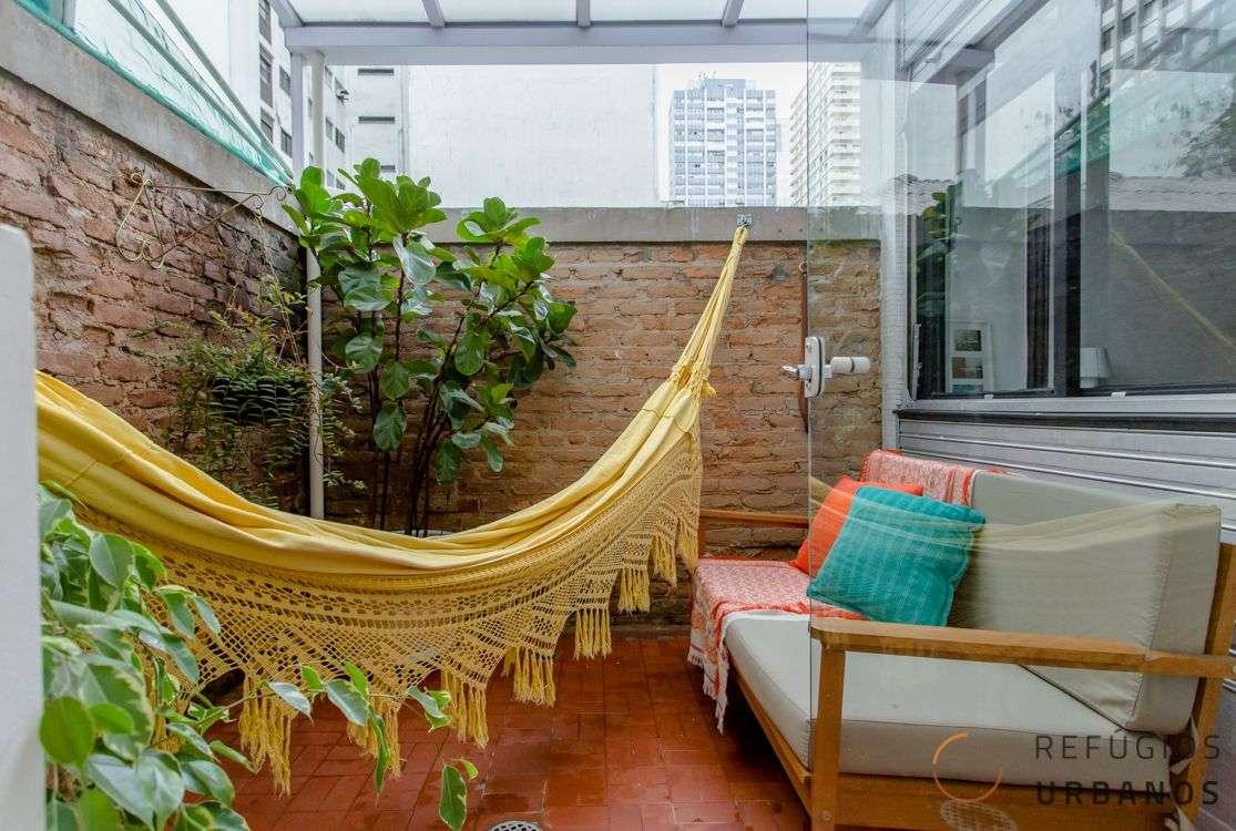 Apartamento nova-iorquino no Jardim Paulista com terraço!