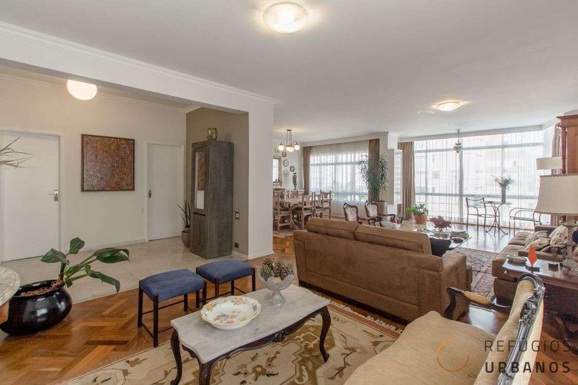 Apartamento em Higienopolis, com 278m2, três dormitórios, sendo uma suite e duas vagas em localização espetacular e vista incrível para o bairro.