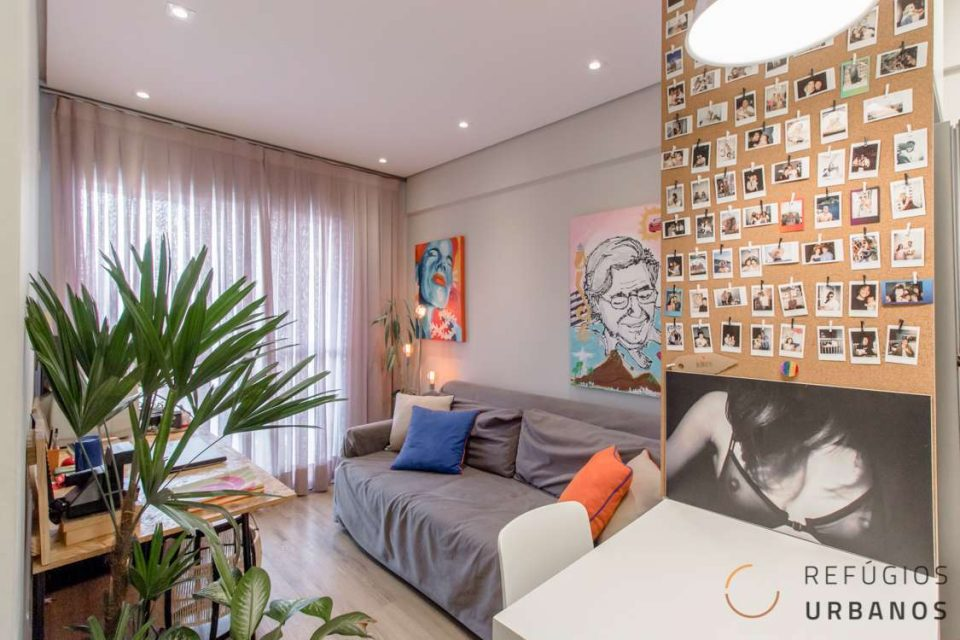 Apartamento lindo com dois dormitórios na Luz com lazer completo!