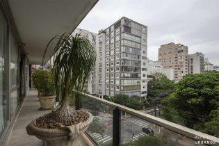 Apartamento em Higienopolis, com 568m2, varandão, 4 suites e 3 vagas, na localização mais privilegiada do bairro, em frente ao Parque Buenos Aires.