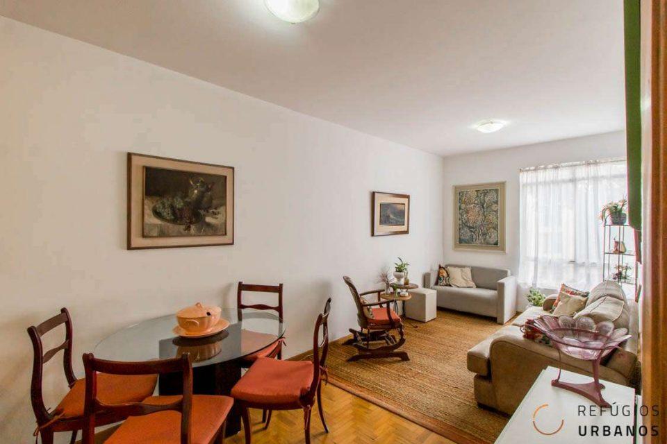 Apartamento com ares vintage no coração de Pinheiros