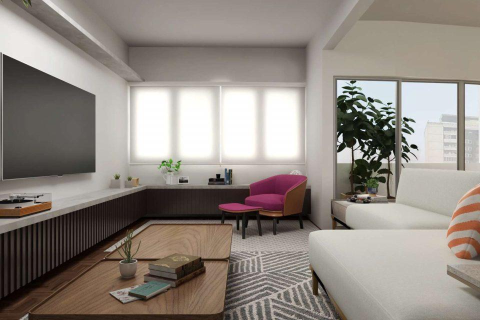 Apartamento em Higienopolis, totalmente reformado, com 162m2, 3 dormitórios, sendo 1 suite, e 2 vagas no agradável trecho final da Av. Higienopolis.