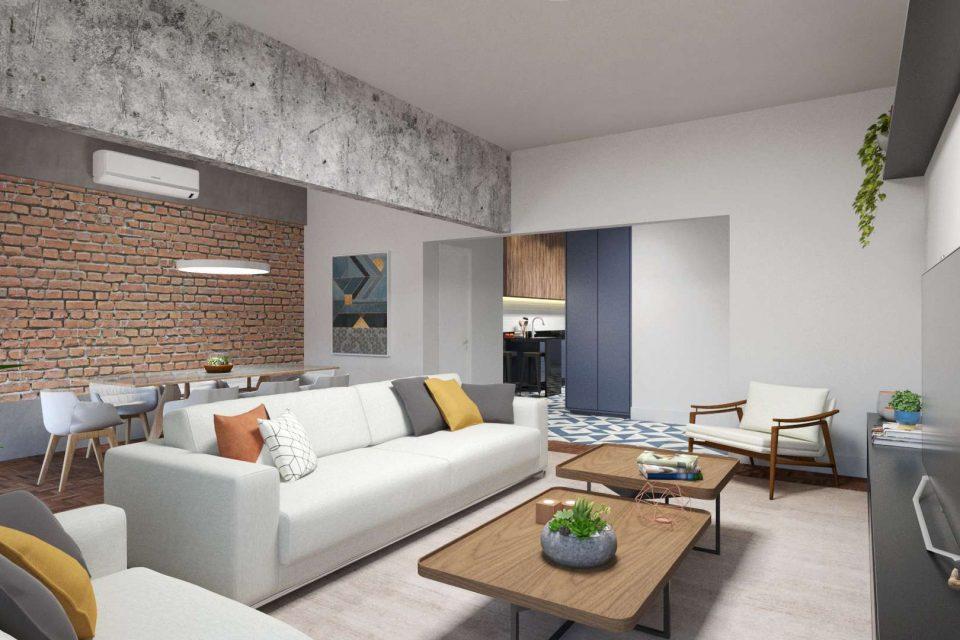 Apartamento em Higienopolis, totalmente reformado, edificio classico, com 169m2, 3 suites, duas varandas e 1 vaga em localização especial.