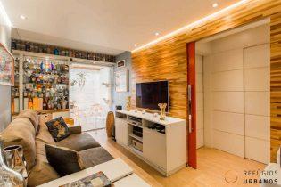 Moema Pássaros, apartamento com 40 m2, 1 quarto, varanda, 1 vaga. Cozinha integrada. Reformado. Curta caminhada do Ibirapuera.
