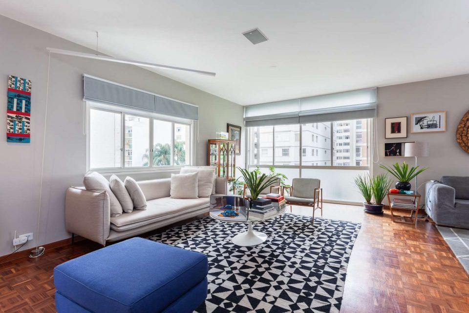 Apartamento de 216 metros quadrados de área útil, 2 suites, totalmente reformado, muita luminosidade e muito estilo, no Jardins!
