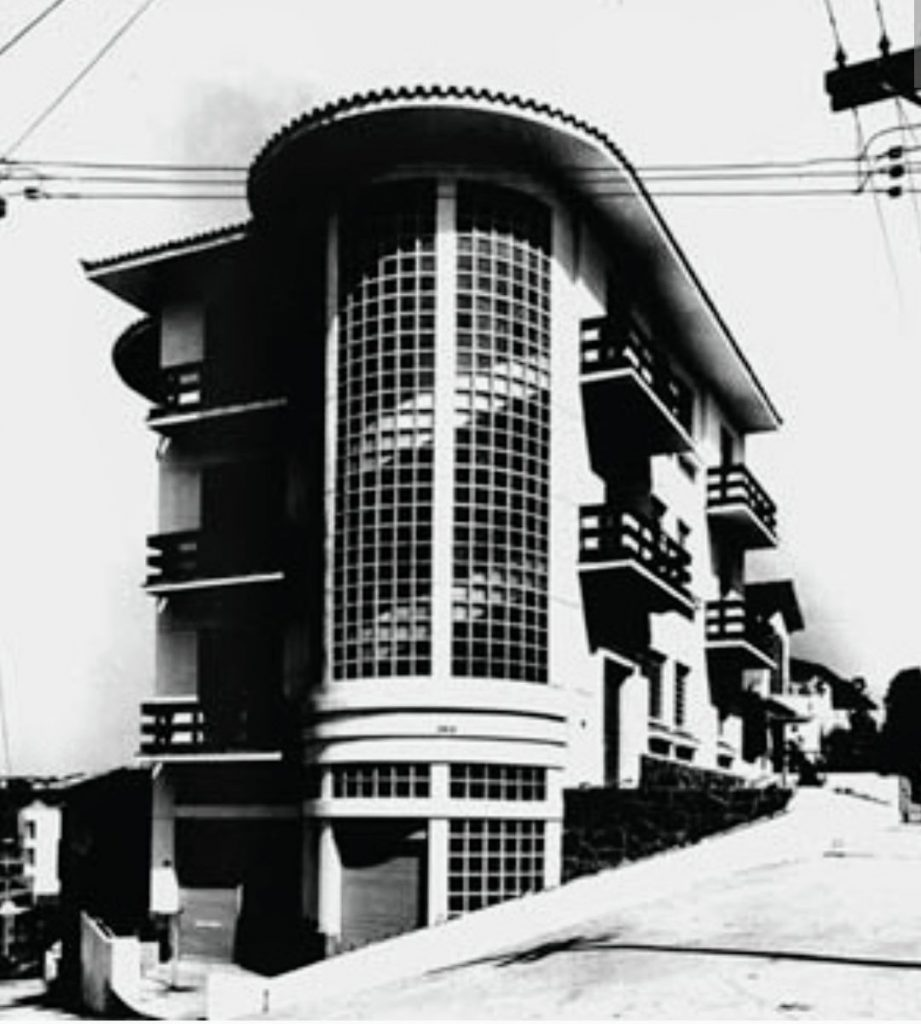 Edf. Tupã - Rua Crasso x Rua Rafael Correa (Acervo: Diva Jurado)