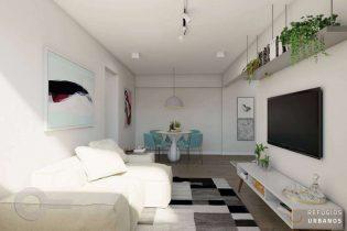 Apartamento em pedaço tranquilo da Pompeia, totalmente reformado, com 53m2, 2 dormitórios, e 1 vaga em condomínio completíssimo.