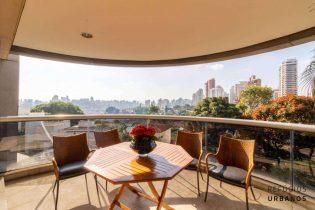 Apartamento em Higienopolis, com 390m2, vistas incríveis, varanda gourmet, 4 suítes e 5 vagas em ponto alto e nobre do bairro.