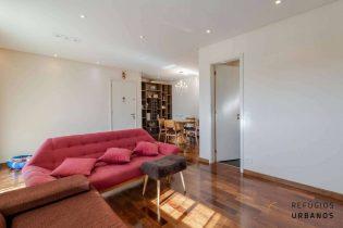 Apartamento solar, com varanda, duas suítes e duas vagas, em 84m² com muito lazer no condomínio e ao lado do HC e metrô Sumaré