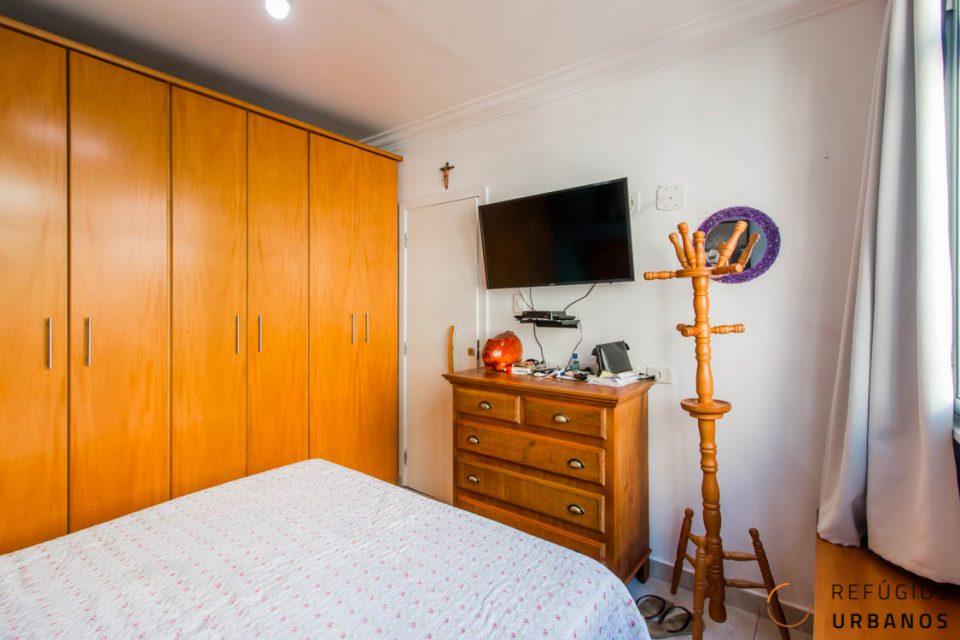 Dormitório com janela antirruido