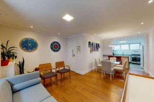 Apartamento reformado, entre o Paraíso e a Vila Mariana