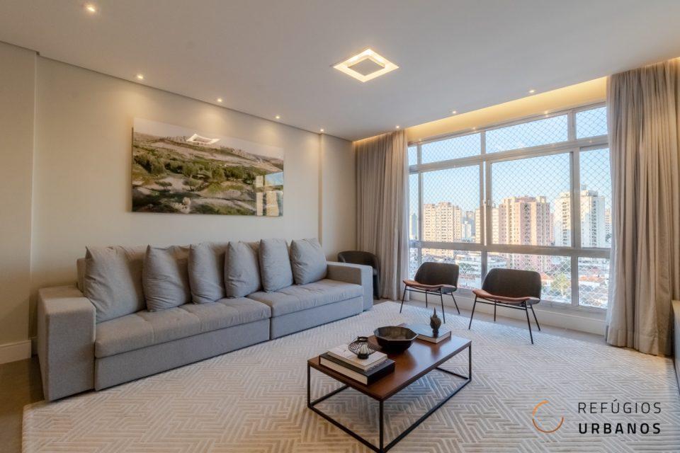 Apartamento com reforma de tirar o fôlego na Mooca