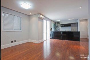 Vila Olímpia, apartamento com 71m2, 2 quartos/1 suíte, cozinha americana. 1 vaga. Prédio com lazer completo em uma localização especial.