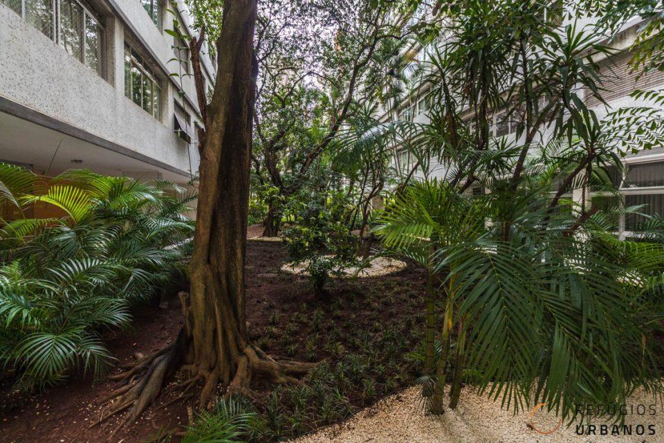 Jardim do condomínio
